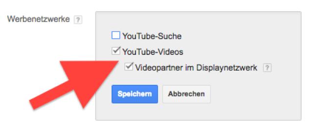 Youtube-Werbenetzwerke